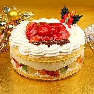 【予約受付】【5号サイズ】天使のイチゴレアチーズショートケーキ(xm1806sh)