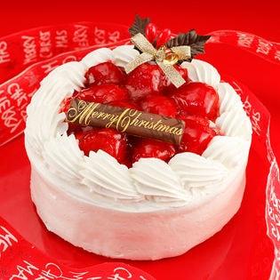 【予約受付】12/19~順次発送【5号サイズ】純白のいちごショートケーキ(xm1606sh)