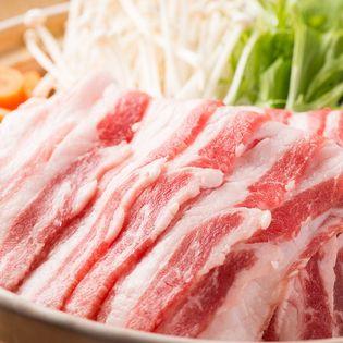 【1kg】イベリコ豚しゃぶしゃぶ用バラスライス