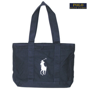 【NAVY/WHITE】ラルフローレントートバッグ CAMINO TOTE OS