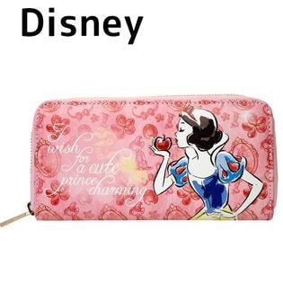 白雪姫【ディズニー プリンセス 長財布】キッズ レディース 大人 ラウンドジップ式