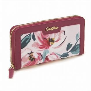 [Paintbo× Flowers]Cath Kidston Aster Wallet / 長財布