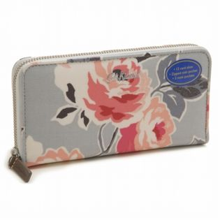 [Dove Grey]Cath Kidston Continental Zip Wallet