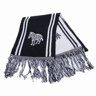 [Paul Smith]SCARF ZEBRA KNIT マフラー / BLACK