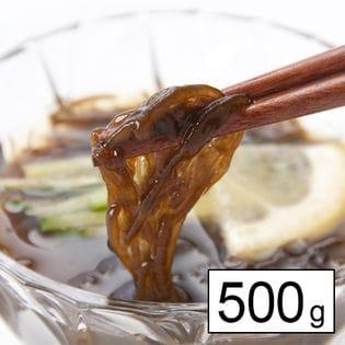 【産地直送】フコイダン豊富で低カロリー!沖縄産「塩もずく」500g(ご家庭用)