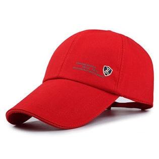 【レッド】キャップ セレブ ゴルフ ベースボールキャップ 帽子 男女兼用 メンズ レディース