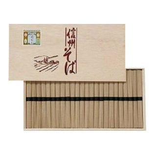 信州そばギフト 木箱 LS-30(包装済)(50g×24束)