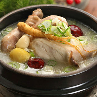 <本場韓国宮廷料理>業務用サムゲタン 1kg×2袋