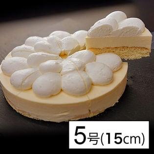 【5号サイズ(直径15cm)】クリーミーにとろけるローカーボレアチーズケーキ