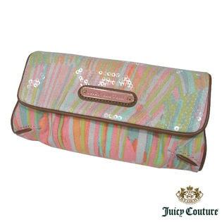 ジューシークチュール JUICY COUTURE スパンコール付三つ折りポーチ YSRU1880
