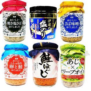 仙台の伊達焼海苔とおかずフレーク6種6瓶セット