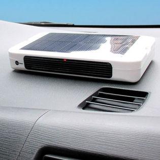 【Sola Clean】車載用ソーラー空気洗浄機