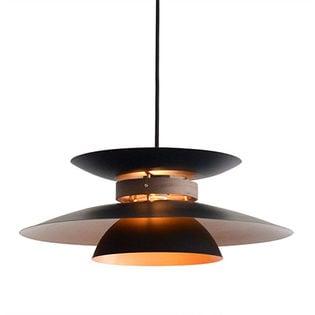 【ブラック】北欧 ペンダントライト 1灯 LED対応/ほっと落ち着く暖かみのある柔らかな光