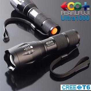 米CREE社 超高輝度LED T6搭載 超強光ズームライト