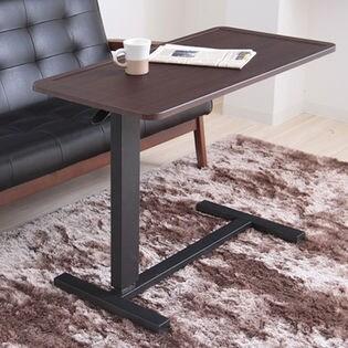 【ファロン】昇降テーブル/キャスター付きなので移動も楽々! 組立品