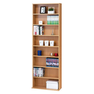 文庫本棚 W600 S(ナチュラル)