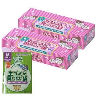 【200枚×2個】おむつが臭わない袋BOS(ボス) Sサイズ (Mサイズ2枚おまけ)