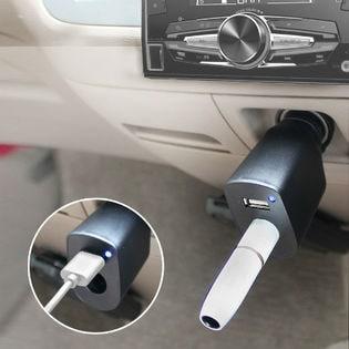 IQOS 車載充電器/ブラック