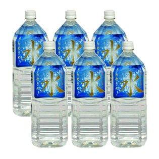 【2L×6本×2ケース】富士山麓の天然水 きらめきの水