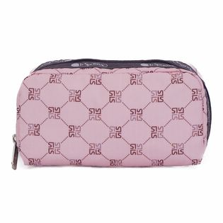 [LeSportsac}RECTANGULAR COSMETIC ポーチ / ライトピンク