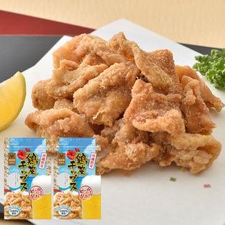 沖縄でも大人気!『鶏皮チップス』国産鶏皮×こだわり塩浜比嘉塩使用!【80g(40g×2袋)】