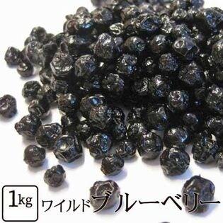 【計1kg(500g×2)】ワイルドブルーベリー