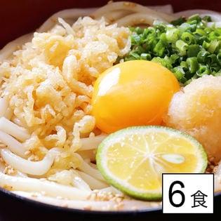 【6食(300g×2袋)】讃岐うどん