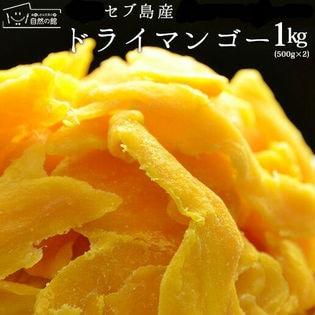 【1kg(500g×2)】セブ島 ドライマンゴー(端っこ・不揃い)
