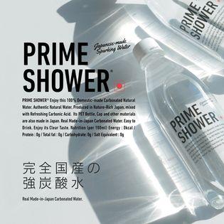 【500ml×24本】プライムシャワー 強炭酸水 ソーダ 天然水 完全国産