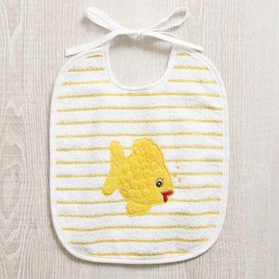 [FEILER(フェイラー)]BABY BIB FISH 子供用スタイ / イエロー