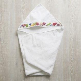 [FEILER(フェイラー)]BABY BALLONS子供用バスタオル / ホワイト