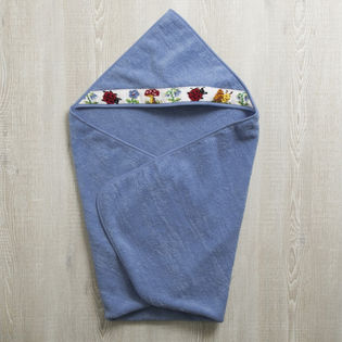 [FEILER(フェイラー)]BABY PAULI 子供用バスタオル / ブルー