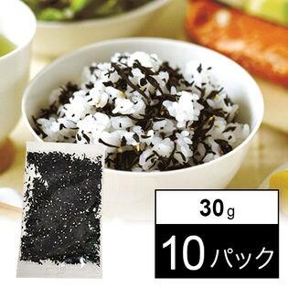 【30g×10パック】半生ソフトふりかけ-ひじきごはん[しそ風味]