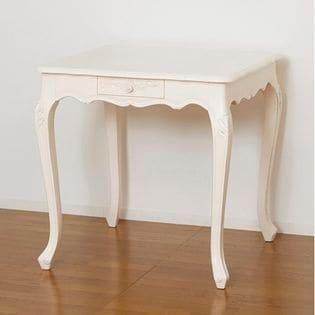 【ホワイト】コモダイニングテーブル75