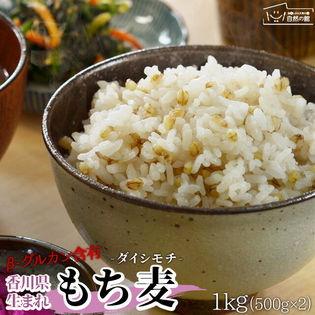【1kg(500g×2)】国産もち麦「ダイシモチ」
