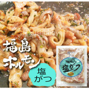 【235g×5袋】福島ホルモン(塩がつ)