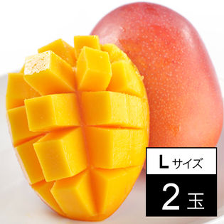 宮崎産 完熟マンゴー Lサイズ 2玉(約250g-)