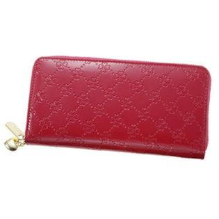 コインスルー財布 【おしゃれNaクローバー】ピンク