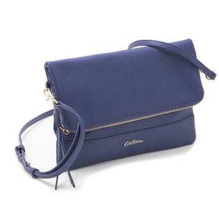 [Cath Kidston]LEATHER FOLDOVER CLUTCH クラッチバッグ