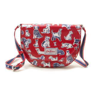 [Cath Kidston]STRATTON SADDLE BAG ショルダーバッグ / レッド