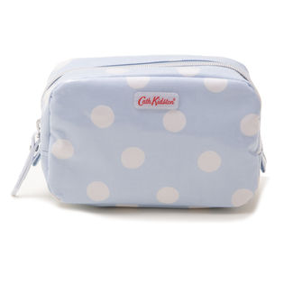 [Cath Kidston]CLASSIC BOX MAKE-UP CASE ポーチ  / ブルー