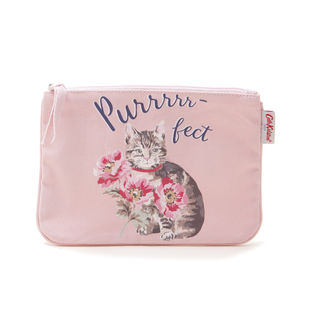 [Cath Kidston]CAT POUCH ポーチ / ピンク
