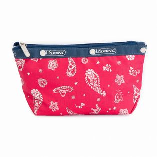 [LeSportsac]SMALL SLOAN COSMETIC ポーチ / レッド