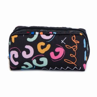 [LeSportsac]RECTANGULAR COSMETIC ポーチ / ブラック
