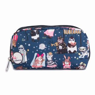 [LeSportsac]RECTANGULAR COSMETIC ポーチ / ネイビー