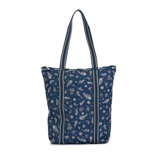 [LeSportsac]ABSTRACT DAILY TOTE トートバッグ / ブルー
