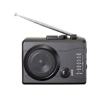 AM/FMラジオカセットレコーダー+デジタルデータ保存「楽々ラジカセPC」