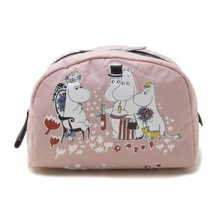 [LeSportsac×MOOMIN]MED PASSAGE COSMETIC ポーチ / ピンク