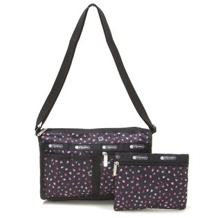 [LeSportsac]DELUXE SHOULDER SATCHEL ショルダーバッグ