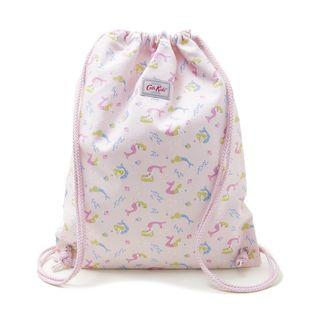 [Cath Kidston]KIDS DRAWSTRING BAG リュックサック / ピンク